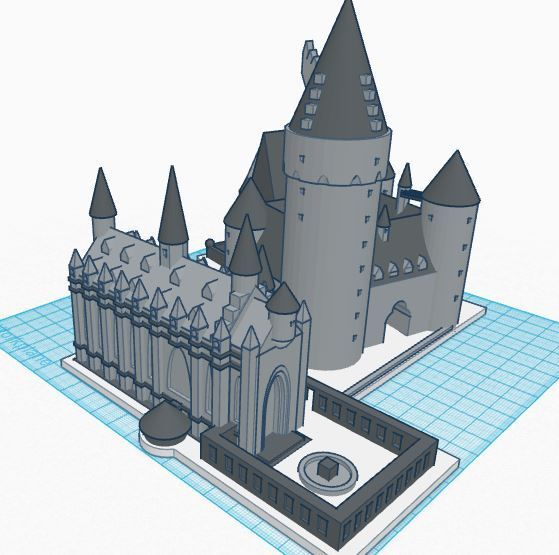 Hogwarts School Of Witchcraft And Wizardry Castle Part 1 Of 3