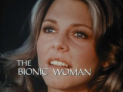 Lindsay Wagner as Jaime Sommers in The Bionic Woman.