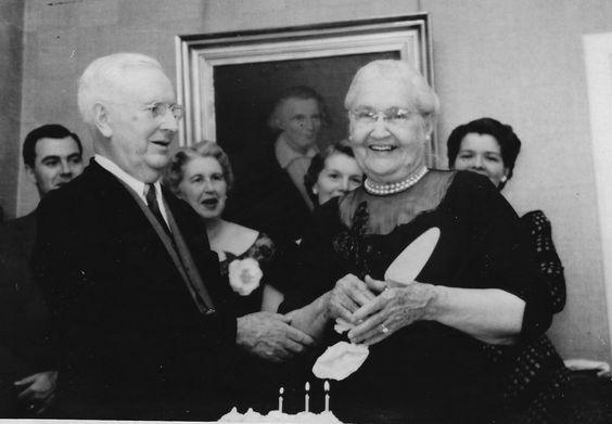 John Leger and Henrietta Buddig