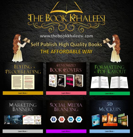The Book Khaleesi Helping authors publish high quality books - The Affordable Way: