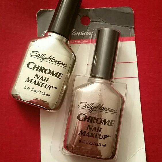 *NEW* Sally Hansen chrome nail polish. New chrome nail polish Sally Hansen  Other