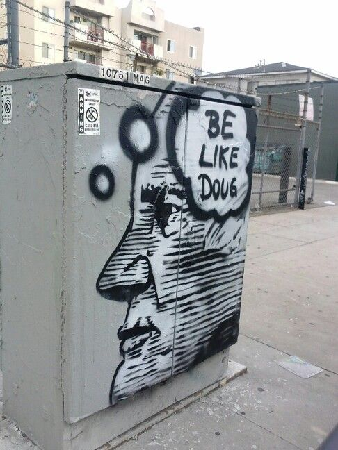Robert Sundance imagines Doug.