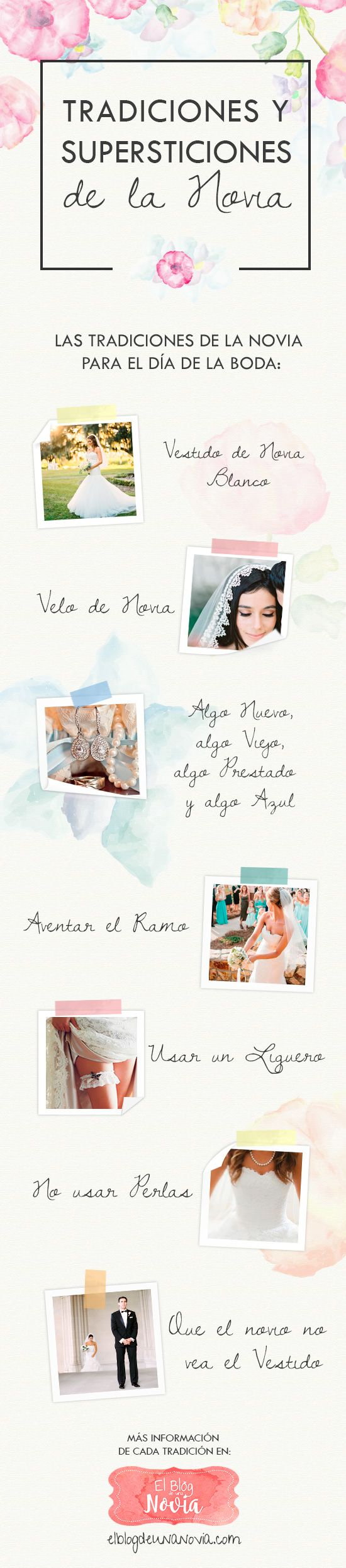 Tradiciones y Supersticiones de la Novia | El Blog de una Novia | #boda #novias