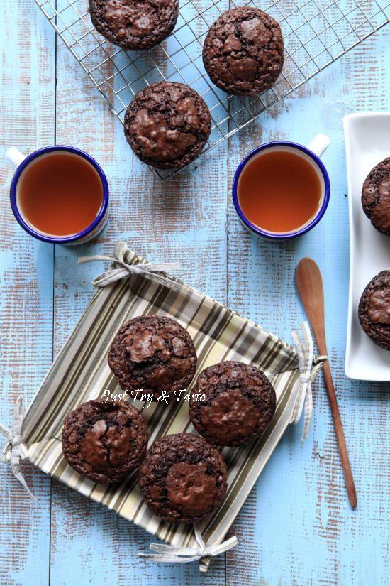 Resep Bruffins Sedapnya Brownies Disilangkan Dengan Muffin Makanan Makanan Mudah Resep Kue