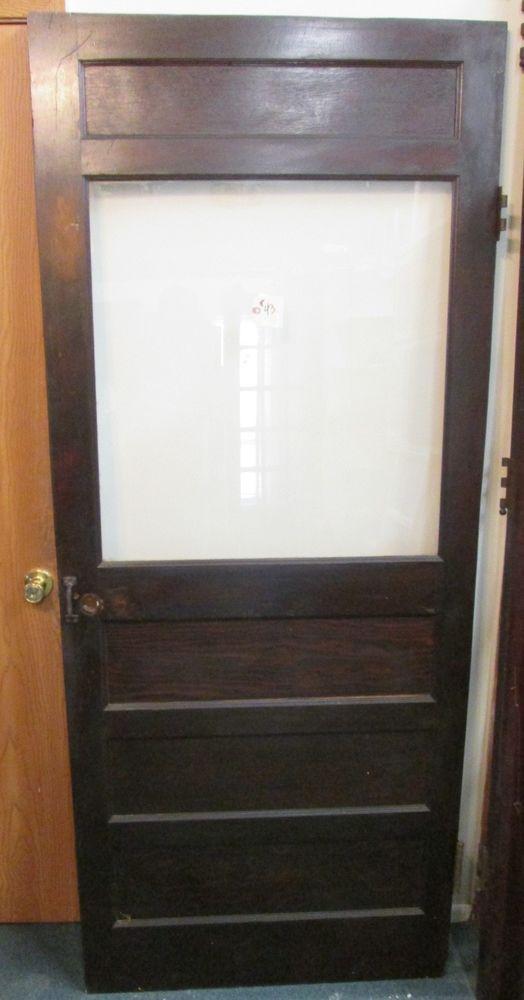 Beautiful ANTIQUE VICTORIAN INTERIOR DOOR W/ GLASS PANEL U0026 BARGAIN PRICED ESTATE # 43  | Doors | Pinterest | Victorian Interior Doors, Victorian Interiors And  Interior ...