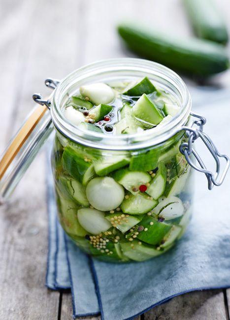 Pickles de concombre, © Concombres de nos régions
