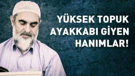 YÜKSEK TOPUK AYAKKABI GİYEN HANIMLARI KUR'AN-I KERİM UYARIYOR! | www.corek-otu-yagi.com