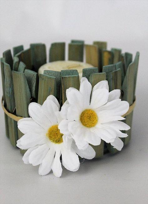 16 DIY Clothespins Ideas | DIY to Make