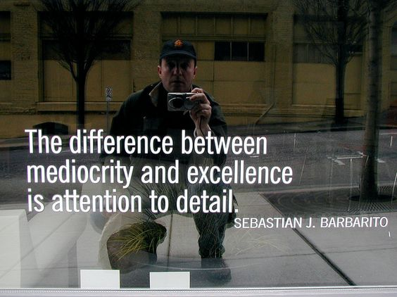 The Difference Between Average and Excellence