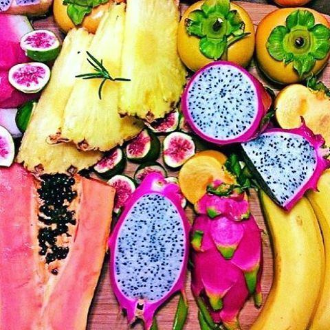 #NeonStarJunture #Fruit #DragonFruit #Banana #Pineapple #Watermelon #color