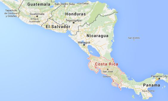 Interesting facts costa rica on world map thefactfile interesting facts costa rica on world map thefactfile pinterest interesting facts and costa rica gumiabroncs Gallery