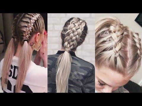 تسريحات شعر للمدرسة 2017 أحدث تسريحات للشعر الطويل تسريحات للشعر القصير مع جمالك سيدتي Youtube Hair Styles Hair Beauty