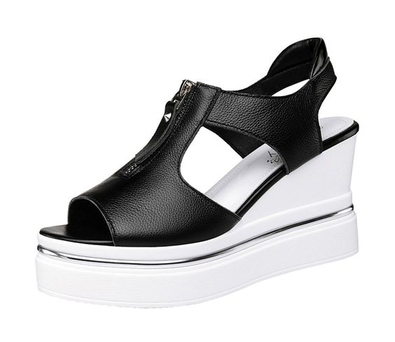 Slow Wedge Comfy Sandals shoes womenshoes footwear shoestrends