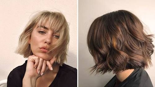 The Ultimate Guide To Styling A French Bob The Right Way Hair Com By L Oreal Bob Hairstyles French Bob Curly Bob Hairstyles