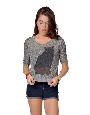 Love this Cat Sweater, new addition to my closet! #catsweater #trendy #gottahave