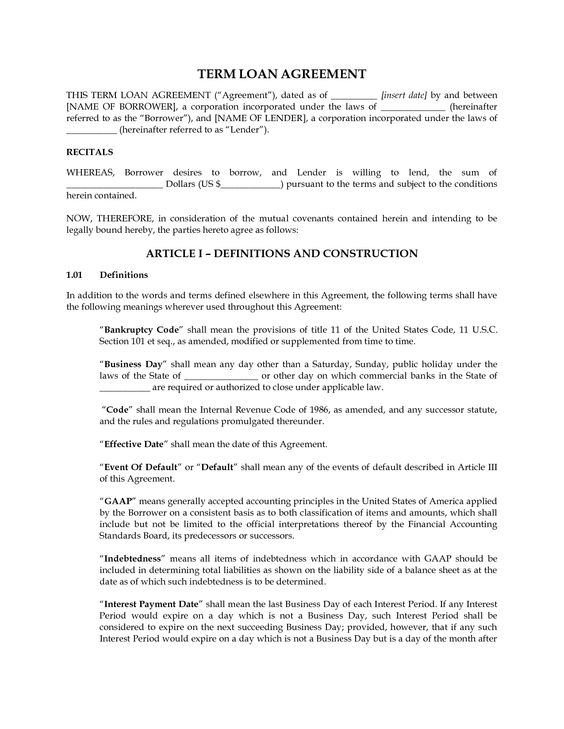 Personal Loan Contract Agreement Template Get my FREE video - lending contract template