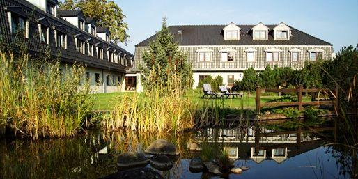 69 € -- Brandenburg: 3 Tage am See mit Halbpension, -47%
