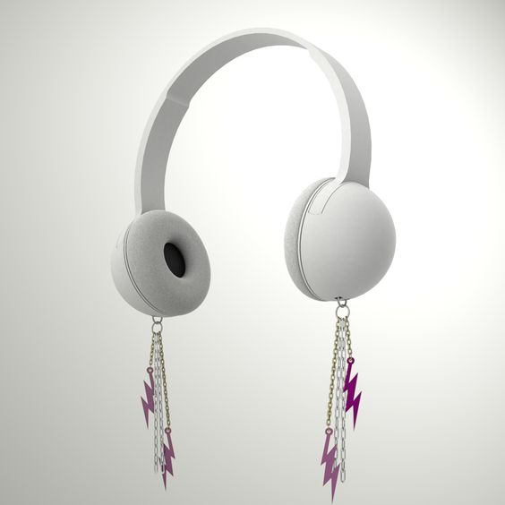 Auriculares con aros incorporados!!(✿◠‿◠)♥ http://www.eastvillagelove.com/