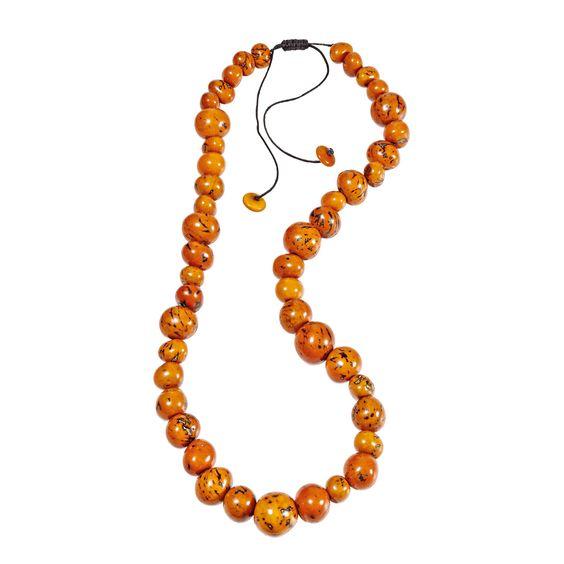 Kette, orange, statt 34,95 auf 19,95