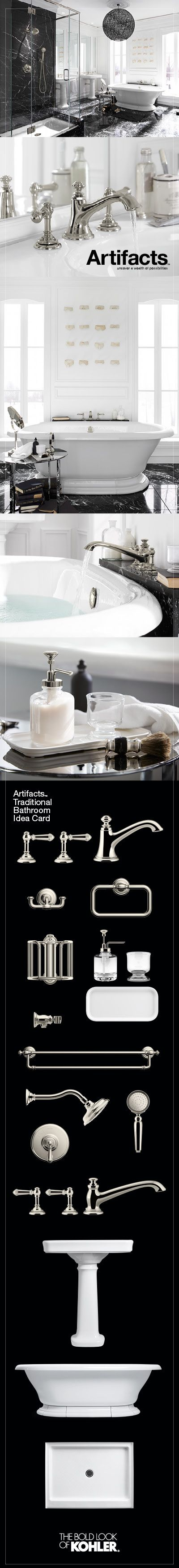 Create A Look All Your Own With The Kohler Artifacts Collection Timeless And Classic In Its