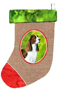 Springer Spaniel Christmas Stocking SS2075