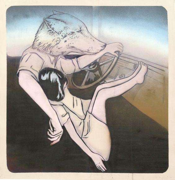 Mando Marie zählt zu den wenigen bekannten und erfolgreichen weiblichen Vertretern der Stencil-Kunst. Die Technik des Stencils hat ihren Ursprung in der Graffit- und Street-Art-Szene und zeichnet sich dadurch aus, dass Motive mit Hilfe von vorgefertigten Schablonen angebracht werden. Die Arbeiten Mando Maries sind sowohl auf großflächigen Wänden im urbanen als auch im geschlossenen Raum …