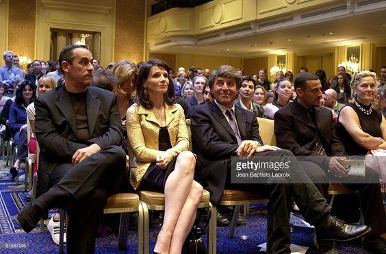 Photo d'actualité : Thierry Ardisson, Juliette Binoche & Alain...