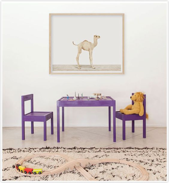 Need to paint our Ikea Table and Chairs one solid color.