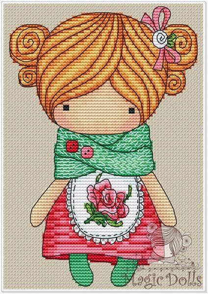 Схемы вышивки magic dolls 273