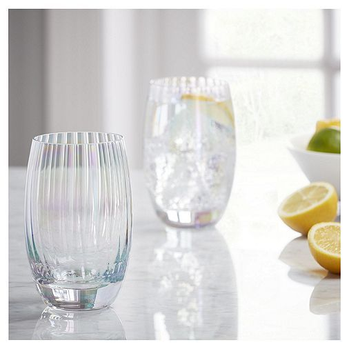 Tesco Direct Fox Ivy Jardin Pack Of 4 Hiball Glasses Home Accessories Home Home Decor