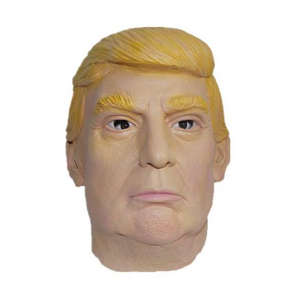 Politically Incorrect Halloween Mask - Donald Trump - Latex