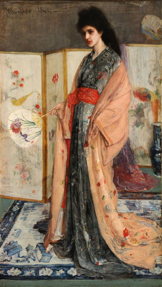 James McNeill Whistler : Rose and Silver The by RenfieldsGarden