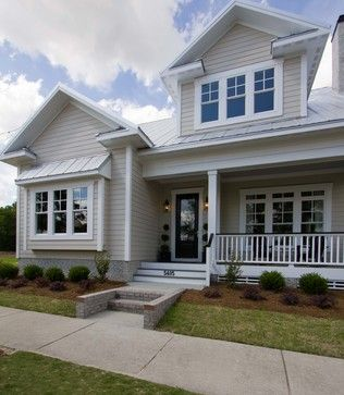 Piper model home autumn hall traditional exterior wilmington plantation building corp - House exterior paint images model ...