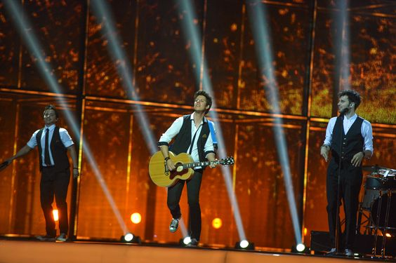 eurovision band stage - Google Search