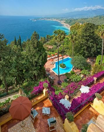Villa Belvedere Taormina, Sicily
