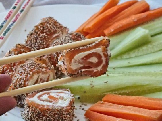 Leckeres Low Carb Sushi ohne Reis! Schnell, einfach und wahnsinnig lecker.