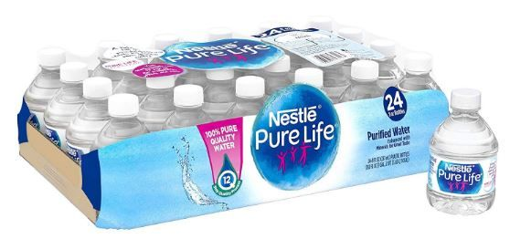 Nestle Pure Life Purified Water 24 Pack As Low As 2 80 Become A Coupon Queen In 2020 Nestle Pure Life Nestle Pure Life Water Water Purifier