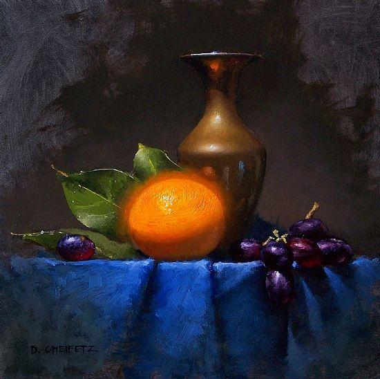 David Cheifetz 油画静物