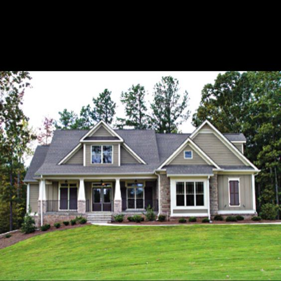 Craftsman Style Homes-my favorite!