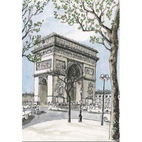 Décor - PARIS Arc de triomphe IN CREATION