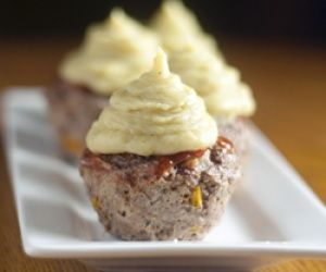 Meatloaf Cupcakes Recipe | Paleo inspired, real food. Oh my....