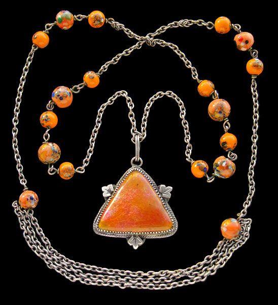 Arts & Crafts necklace - British c.1905