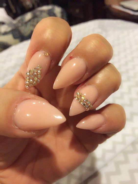 3D Nails & Spa - Glendora, CA, United States. Wanted to get something simple this time. I really love the cappuccino acrylic they use.