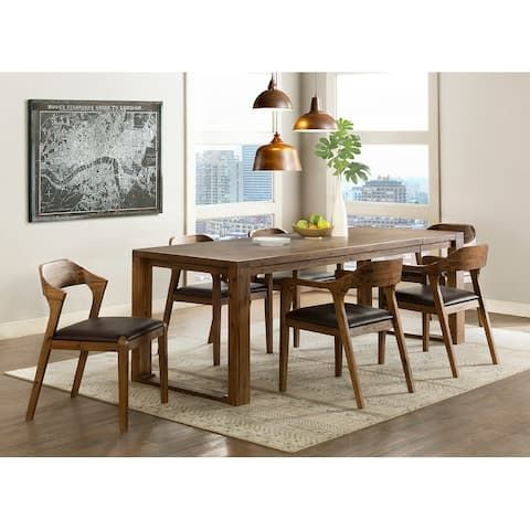 Buy Kitchen Dining Room Sets Online At Overstock Our Best Dining Room Bar Furniture Deals In 2020 Dining Table Walnut Dining Table Dining Room Bar