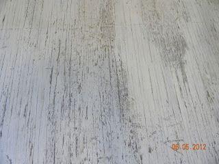 DIY Painted Plywood Floor..love it!