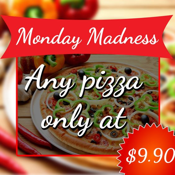 Today's offer: Enjoy Monday Madness at Red Fox Restaurant! And subscribe to get best deals in your email. http://offers.redfoxrestaurant.com.au/  #RedFoxRestaurant #Restaurant #Warrandyte #Melbourne #Australia #Pizza #PizzaOffer #Food #MondayMadness #FoodPorn #Foodie #Foodlovers #Yummy #HealthyFood #Subscribe #BestDeals
