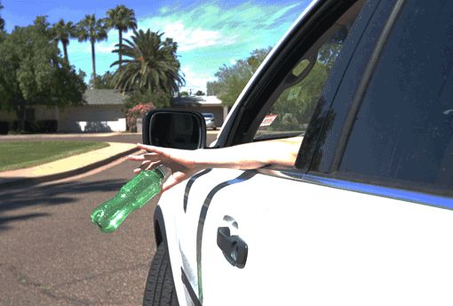 See someone littering? call the AZ Litter Hotline 877.3LITTER or report at kazb.org