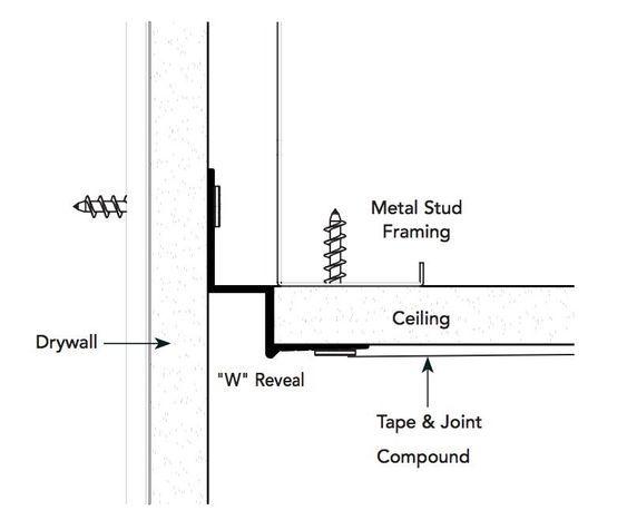 W Reveal Ceiling Detail Ceiling Detail Ceiling Design Bedroom False Ceiling Design