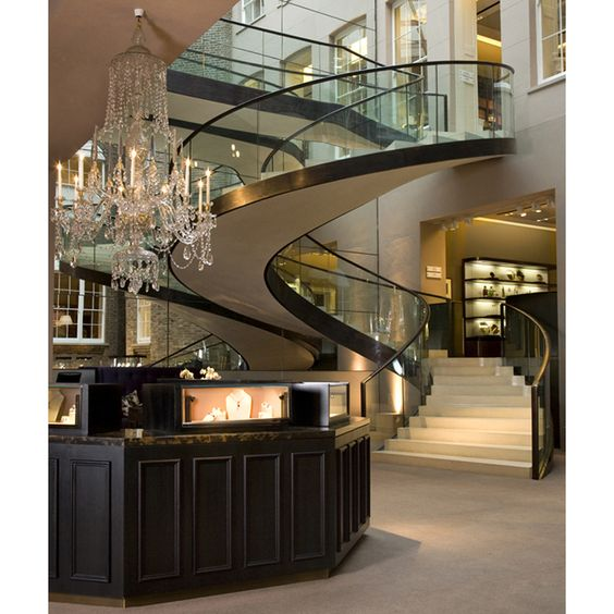 Luxury kitchens entrance and staircases on pinterest for Hotel home decor