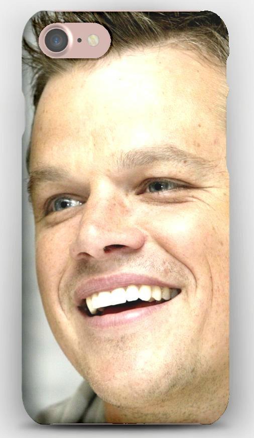iPhone 7 Case Matt damon, Hair, Laugh